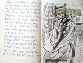 Eva Schnell – André Thomkins Briefwechsel 1950